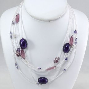 Murano Glass - CO468-AMETHYST